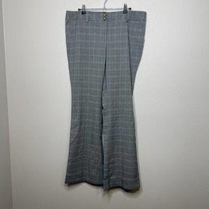 Star City Dana Stripes Plaid Dress Pants Women 13